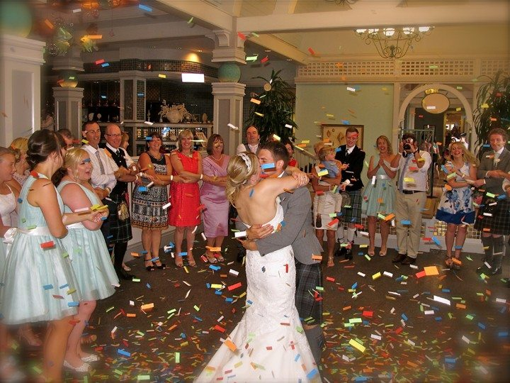 Disney Yacht Beach Club Wedding Last Dance