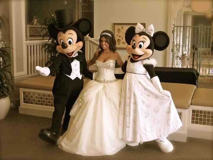 Walt Disney World Ariels Wedding Mickey Minnie