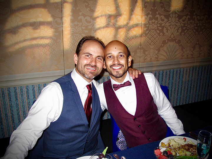 "Joey and Jason are proud to say ""I Do"" at their Walt Disney World Same-sex Wedding."