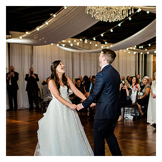 Excitement of the First Dance with Orlando Wedding DJ Chuck Johnson
