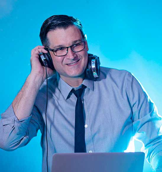 Orlando Wedding DJs Chuck Johnson Headshot